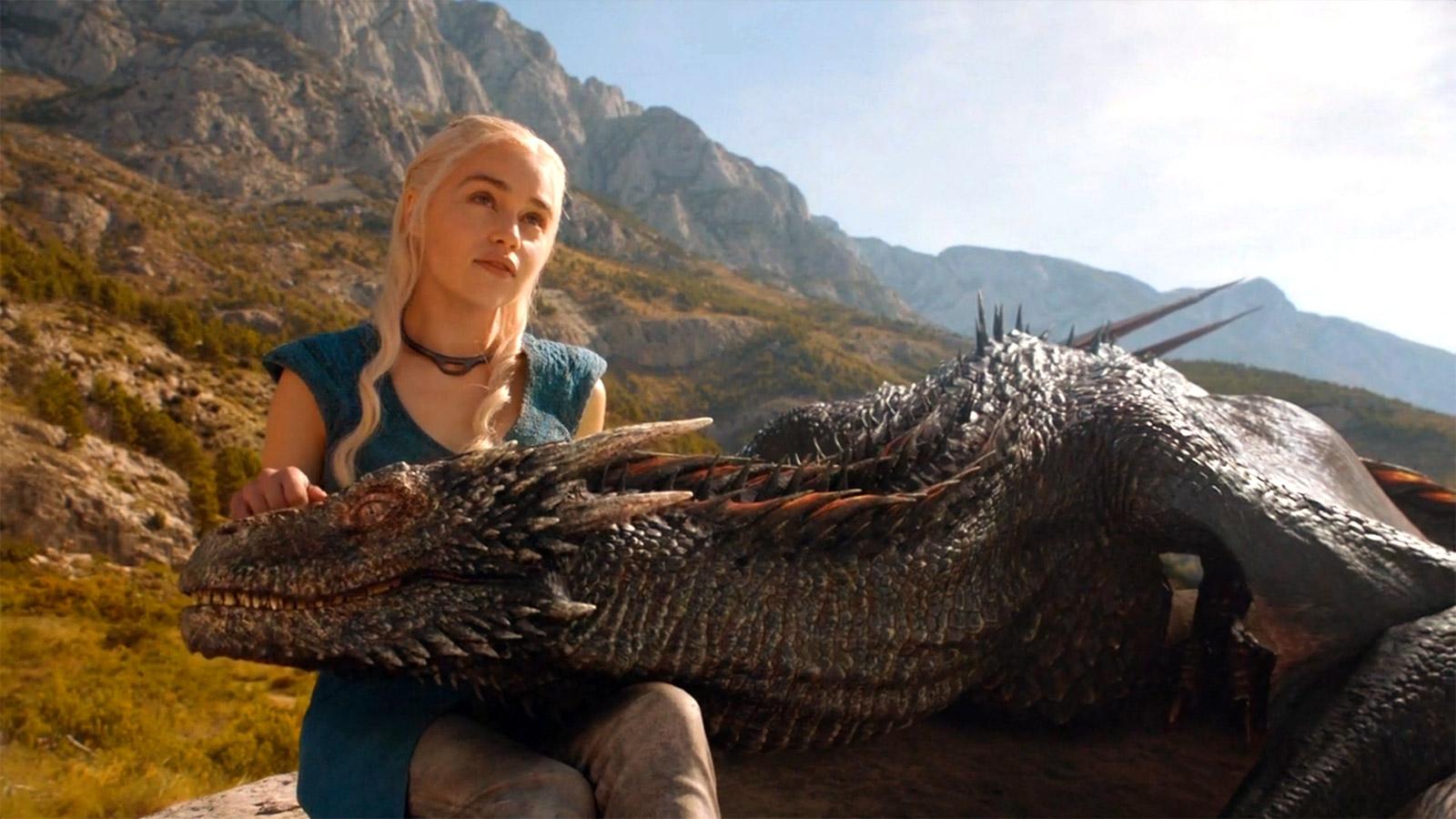 Daenerys targaryen and khal drogo wallpaper daenerys targaryen wedding - Daenerys Targaryen And Dragon