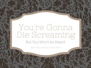 You're Gonna Die Screaming