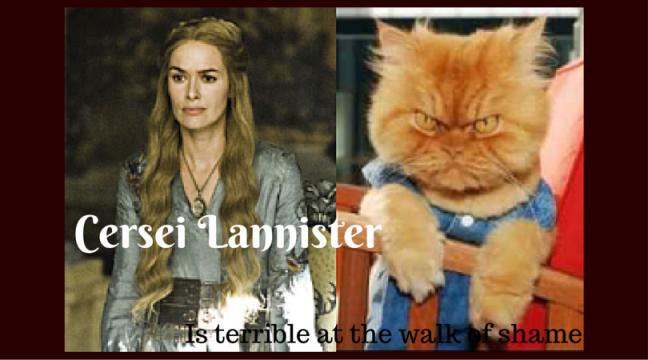 Cersei Lannister-GoT-Cats