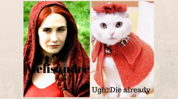 Melisandre-GoT-Cats