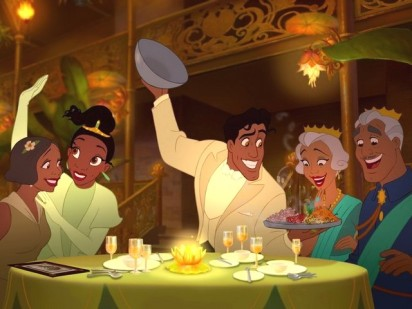 Prince-Naveen-and-Tiana-at-Own-Restaurant-Princess-and-the-Frog