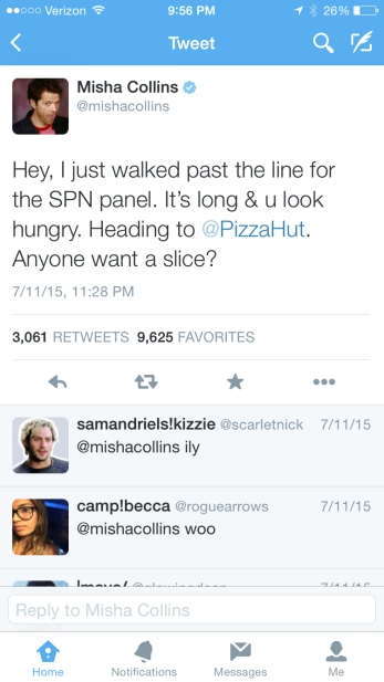 tweet pizza