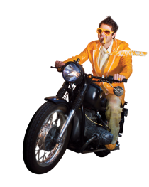 misha-motorcycle-cheese